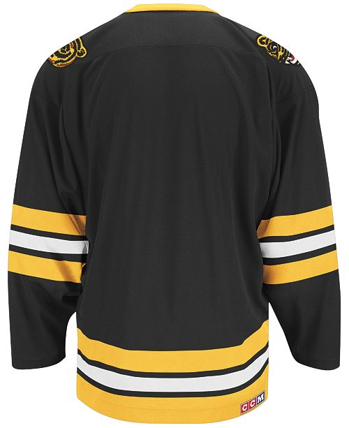 dafb824e65d CCM Men s Boston Bruins Classic Jersey   Reviews - Sports Fan Shop ...