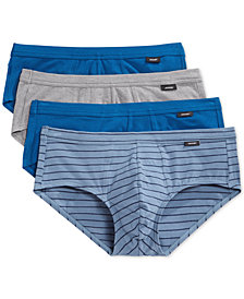 Jockey Low-Rise Tagless Stretch Briefs, 4 Pack
