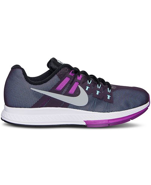 6a18e7a1e78e Nike Women s Zoom Structure 19 Flash Running Sneakers from Finish Line -  Finish Line Athletic Sneakers - Shoes - Macy s