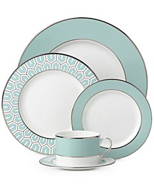 Brian Gluckstein by Clara Aqua  Bone China 5-Piece Place Setting