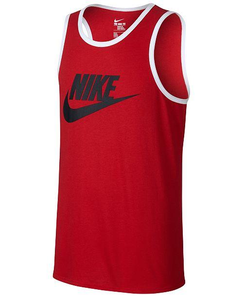 95d4ac69e5 Nike Men s Ace Logo Graphic Tank   Reviews - T-Shirts - Men - Macy s