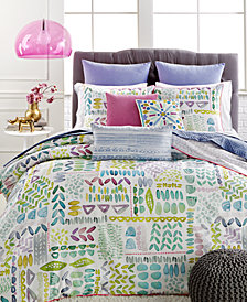 CLOSEOUT! bluebellgray Lola Bedding Collection, 100% Cotton