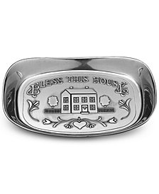 Wilton Armetale Bless This House Serving Dish