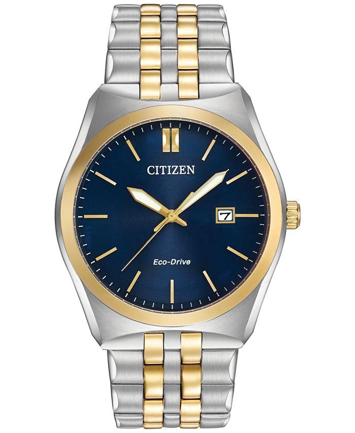 Citizen - Women's Eco-Drive Two-Tone Stainless Steel Bracelet Watch 40mm BM7334-58L