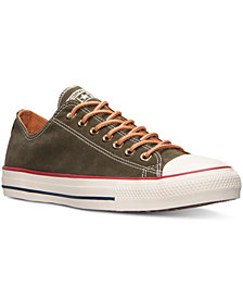 Converse Men's Chuck Taylor Ox Peached Canvas Casual Sneakers from Finish Line