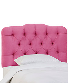 Brooke King Tufted Headboard, Quick Ship