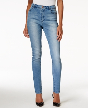 Nanette by Nanette Lepore Gramercy High-Rise Skinny Sapphire Wash Jeans, Only at Macy's