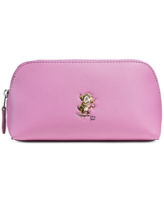 COACH X Baseman Small Cosmetic Case in Leather