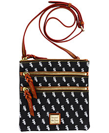 Dooney & Bourke Chicago White Sox Triple Zip Crossbody Bag