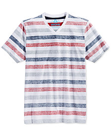 American Rag Men's Stripe T-Shirt, Created for Macy's