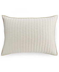 CLOSEOUT! Hotel Collection Modern Eyelet Quilted Standard Sham, Created for Macy's