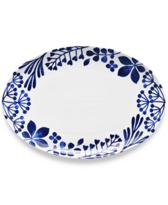 Sandefjord  Porcelain Oval Platter
