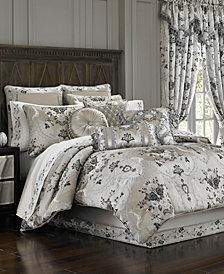 J Queen New York Alessandra King 4-Pc. Comforter Set