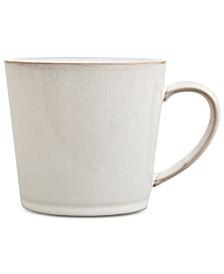 Natural Canvas Stoneware Large Mug
