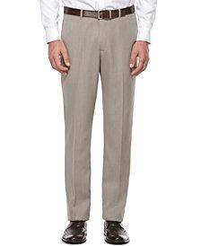 Perry Ellis Portfolio Flat Front Modern Fit Melange Pants