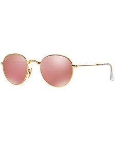 Ray-Ban ROUND METAL FOLDING Sunglasses, RB3532