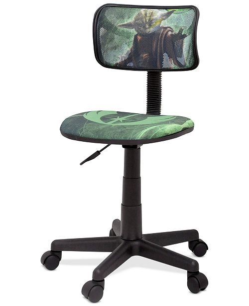 Furniture Star Wars Yoda Task Chair, Quick Ship