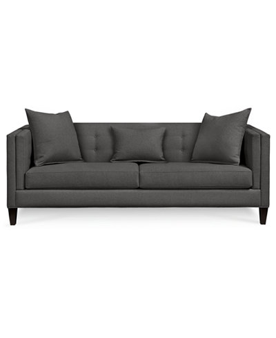 Bray lei Track Arm Sofa with 2 Toss Pillows, Created for Macy's - Bray Lei Track Arm Sofa With 2 Toss Pillows, Created For Macy's