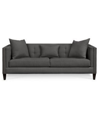 Braylei Track Arm Sofa With 3 Toss Pillows, Created For Macyu0027s. Furniture