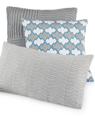 Hotel Collection Mulberry Decorative Pillows : Hotel Collection Linen Turquoise Decorative Pillow Collection, Only at Macy s - Decorative ...