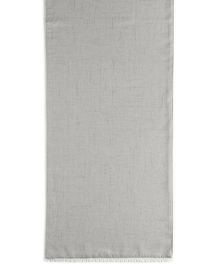 """Lenox - French Perle Collection 70"""" Dove Gray Table Runner"""