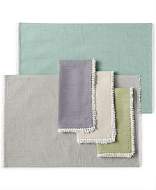 Lenox French Perle Placemat U0026 Napkin Collection