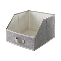 Deals on Neatfreak Harmony Twill Large Easy View Bin Drawer
