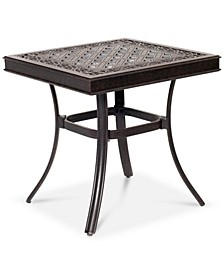 """Park Gate Cast Aluminum 22"""" Outdoor End Table, Created for Macy's"""
