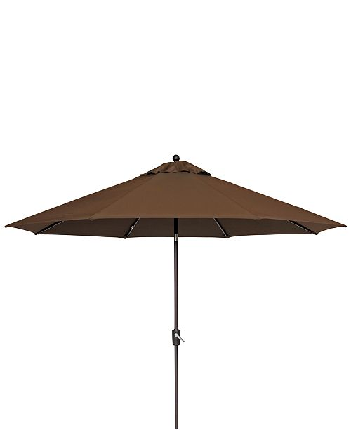 Furniture CLOSEOUT! Cambrian Outdoor 11' Umbrella, Created for Macy's