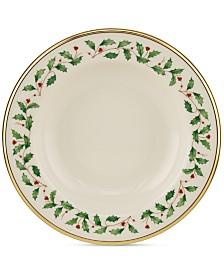 Lenox Holiday Rim Soup Bowl