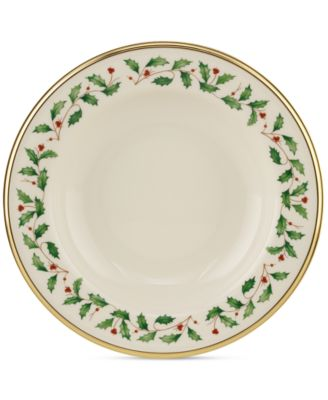 Lenox Holiday Rim Soup Bow.  sc 1 st  Macyu0027s & undefined Winter Greetings Dinnerware Collection - Fine China - Macyu0027s