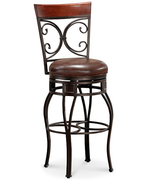 American Heritage Billiards  Treviso Bar Height Stool, Quick Ship