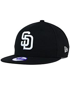 Kids' San Diego Padres B-Dub 9FIFTY Snapback Cap