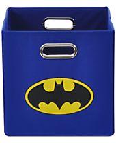 Modern Littles Batman Logo Folding Storage Bin