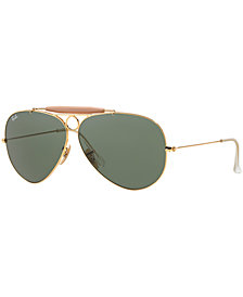Ray-Ban Sunglasses, RB3138 62 SHOOTER