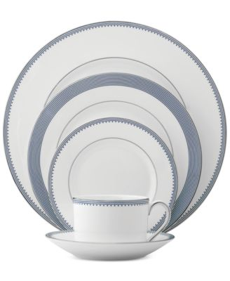 Grosgrain Indigo 5-Pc. Place Setting