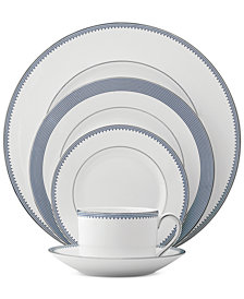 Vera Wang Wedgwood Dinnerware Grosgrain Indigo Collection