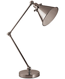 Decorator's Lighting Adjustable Swing Arm Desk Lamp