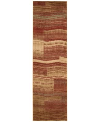 "CLOSEOUT! Somerset Pathway Flame 2'3"" x 8' Runner Rug"