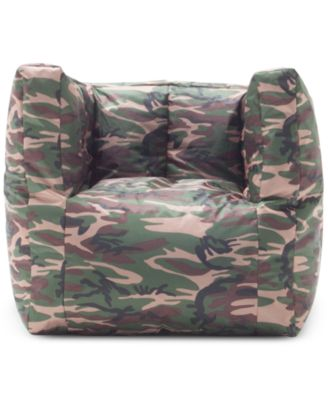 Lindsey Cube Bean Bag Chair, Quick Ship