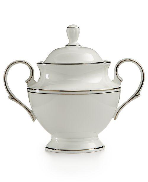 Lenox Federal Platinum Covered Sugar Bowl