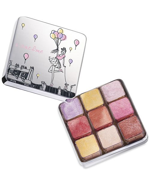 Lancome Shimmer Cube Makeup Palette - Spring Color Collection
