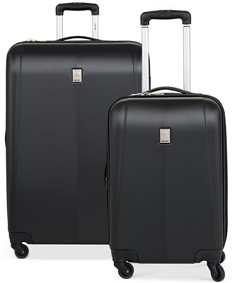 CLOSEOUT! 65% Off Delsey Free Style Hardside Spinner Luggage ...