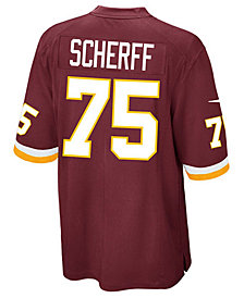 Nike Men's Brandon Scherff Washington Redskins Game Jersey