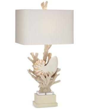 kathy ireland home by Pacific Coast Hanauma Bay Nautilus Shell Table Lamp