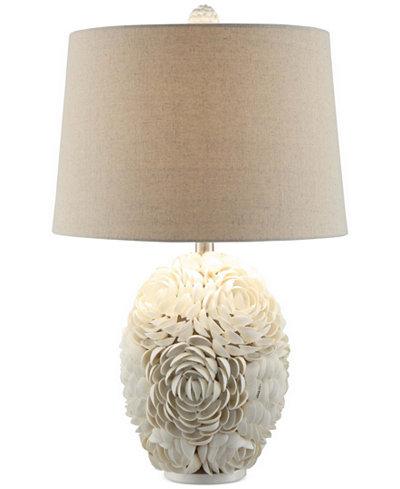 Crestview Calypso Shell Table Lamp