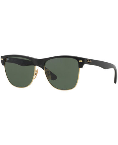 Ray-Ban CLUBMASTER OVERSIZED Sunglasses, RB4175 57