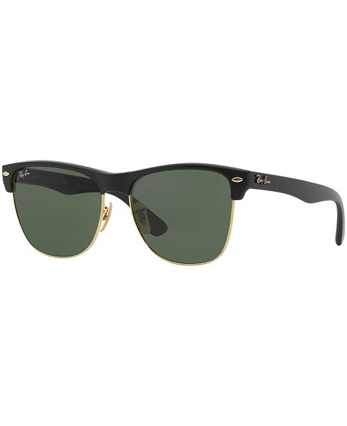 8aed39a6d Ray-Ban Sunglasses, RB4175 CLUBMASTER OVERSIZED & Reviews ...