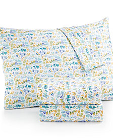 bluebellgray Rowan Floral-Print Twin Sheet Set