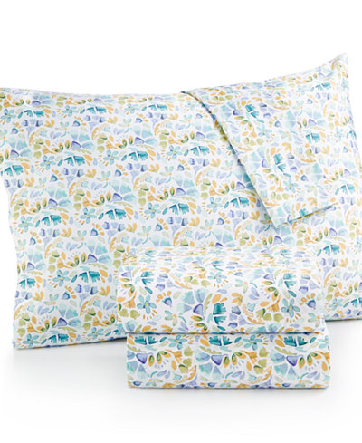 bluebellgray Rowan Floral-Print Queen Sheet Set